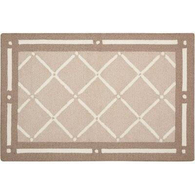 Northampton Hand-Woven Tan Area Rug Rug Size: Rectangle 19 x 210