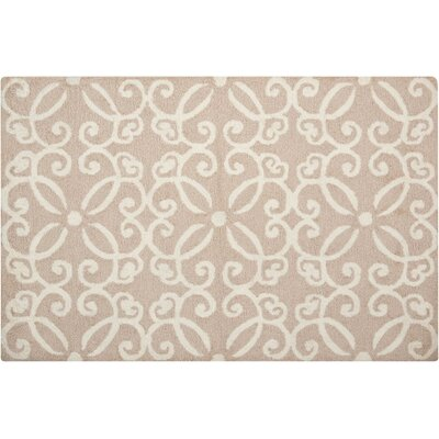 Northampton Hand-Woven Beige Area Rug Rug Size: Rectangle 26 x 310