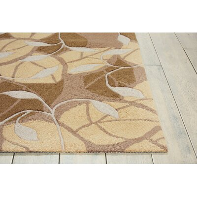 York Leaf Area Rug Rug Size: Rectangle 5 x 76