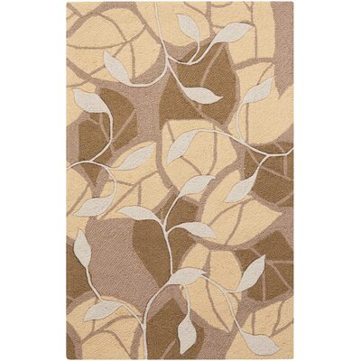 York Leaf Area Rug Rug Size: Rectangle 26 x 4