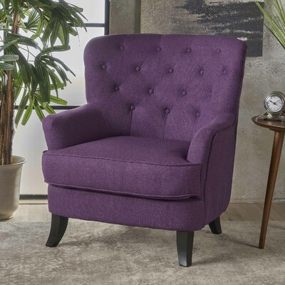 Amini Armchair Upholstery: Purple