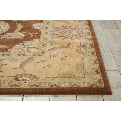 Dowdell Chocolate Area Rug Rug Size: Rectangle 96 x 13