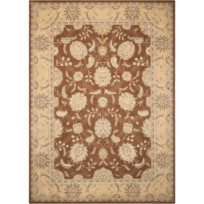 Dowdell Chocolate Area Rug Rug Size: Rectangle 79 x 1010