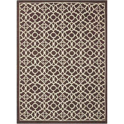 Argo Walnut Area Rug Rug Size: Rectangle 5 x 7