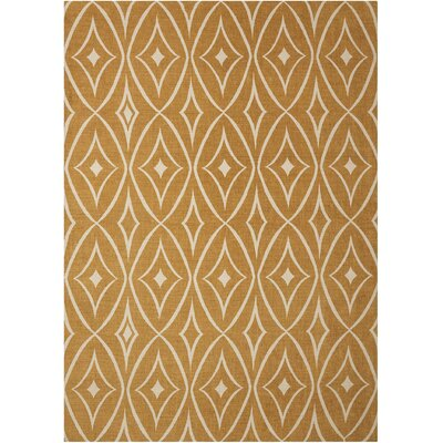 Argo Gold Area Rug Rug Size: Rectangle 5 x 7