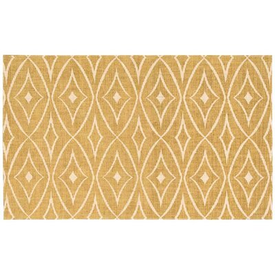 Argo Gold Area Rug Rug Size: Rectangle 23 x 39