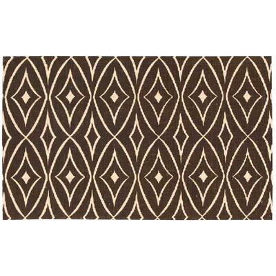 Argo Walnut Area Rug Rug Size: Rectangle 23 x 39