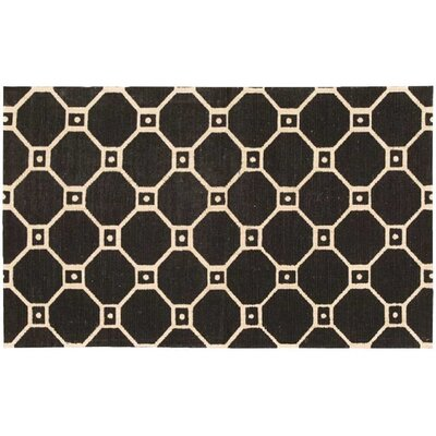 Argo Black Area Rug Rug Size: Rectangle 23 x 39