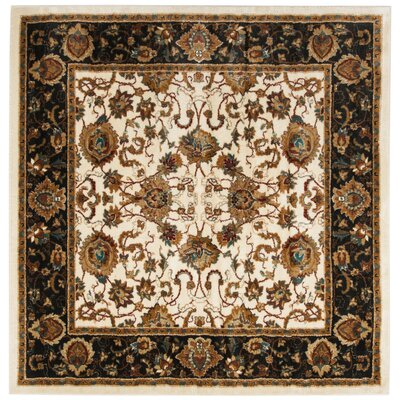Lowe Beige/Brown Area Rug Rug Size: Square 67