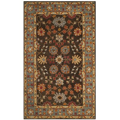 Cranmore Hand-Tufted Brown/Beige Area Rug Rug Size: Rectangle 6 x 9