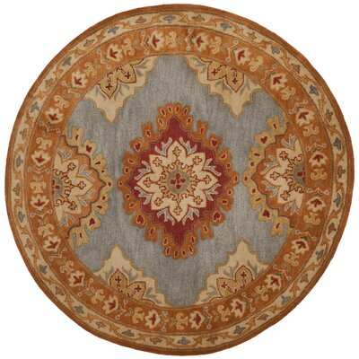 Cranmore Hand-Tufted  Area Rug Rug Size: Round 8 x 8