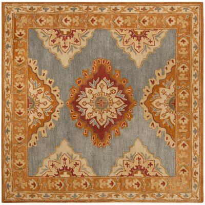 Cranmore Hand-Tufted  Area Rug Rug Size: Square 8 x 8