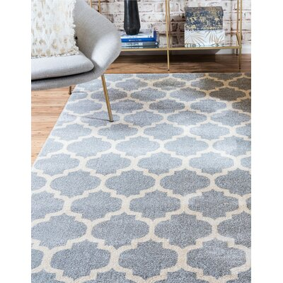 Moore Gray Area Rug Rug Size: Rectangle 61 x 9
