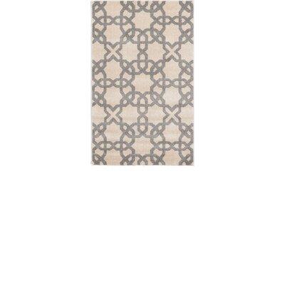 Moore Beige Area Rug Rug Size: Rectangle 33 x 53