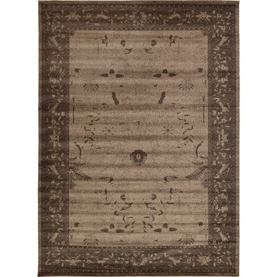 Shailene Brown Area Rug Rug Size: Rectangle 13 x 18