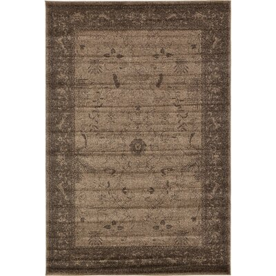 Shailene Brown Area Rug Rug Size: Rectangle 6 x 9