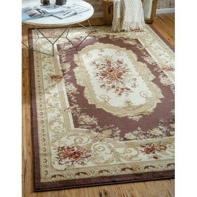Oskar Beige Area Rug Rug Size: Rectangle 6 x 9