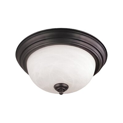 Asro 1-3 Light Flush Mount Size: 5.5 H x 13.25 Dia