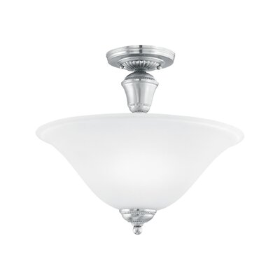 Sterling 2-Light Convertible Inverted Pendant Finish: Brushed Nickel