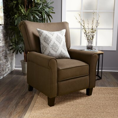 Gladstone Fabric Push Back Recliner Upholstery : Coffee