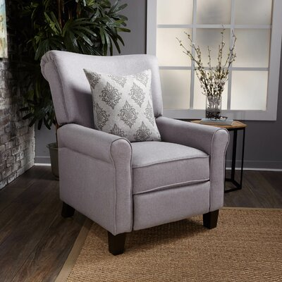 Gladstone Fabric Push Back Recliner Upholstery : Light Gray