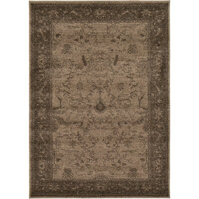 Shailene Brown Area Rug Rug Size: Rectangle 4 x 57
