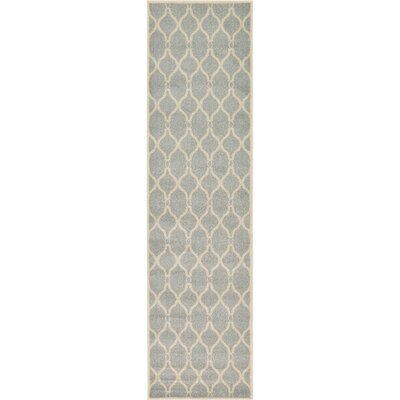 Moore Light Gray Area Rug Rug Size: Runner 27 x 10