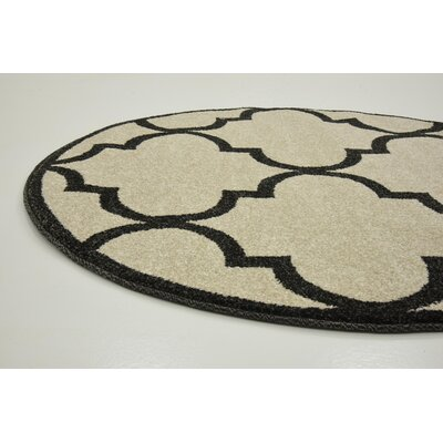 Moore Beige Area Rug Rug Size: Rectangle 33 x 53
