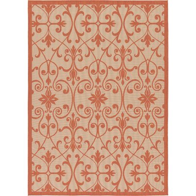 Staffordshire Beige Indoor/Outdoor Area Rug Rug Size: Rectangle 6 x 9