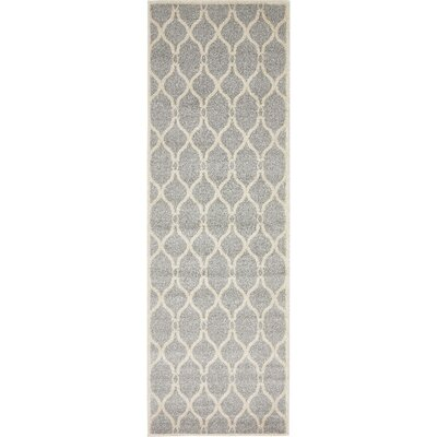 Molly Light Gray Area Rug Rug Size: Runner 27 x 8