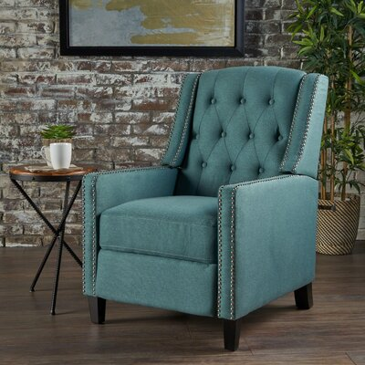 Marathon Manual Recliner Upholstery: Dark Teal