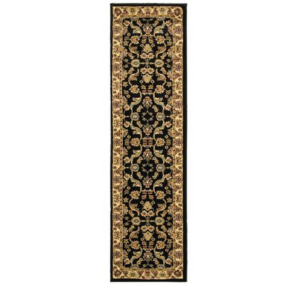 Rowena Persian Brown/Cream Area Rug Rug Size: Runner 11 x 69
