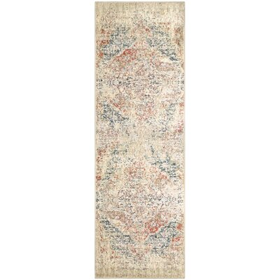 Golston Ombre Area Rug Rug Size: Runner 27 x 8