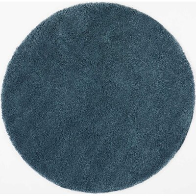 Parrish Blue Area Rug Rug Size: Round 710
