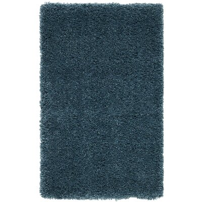 Parrish Blue Area Rug Rug Size: Rectangle 67 x 96