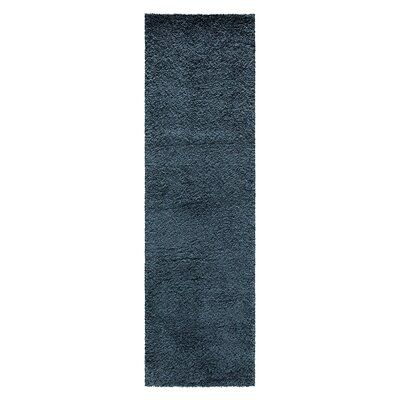 Parrish Blue Area Rug Rug Size: Runner 22 x 76