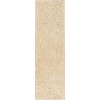 Parrish Cream Area Rug Rug Size: Runner 22 x 76