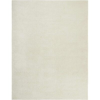 Parrish Ivory Area Rug Rug Size: Rectangle 9 x 12