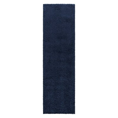 Parrish Navy Area Rug Rug Size: Runner 22 x 76