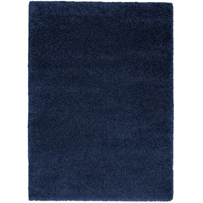 Parrish Navy Area Rug Rug Size: Rectangle 53 x 73