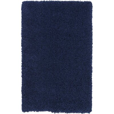 Parrish Navy Area Rug Rug Size: Rectangle 26 x 4