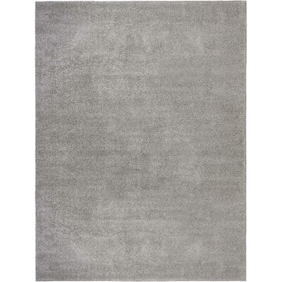 Parrish Gray Area Rug Rug Size: Rectangle 9 x 12