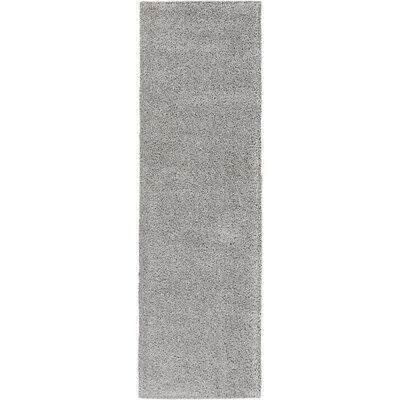 Parrish Gray Area Rug Rug Size: Runner 22 x 76