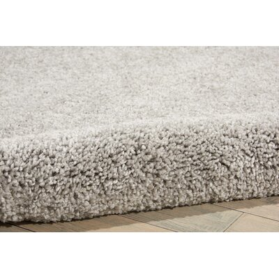 Parrish Gray Area Rug Rug Size: Runner 22 x 91