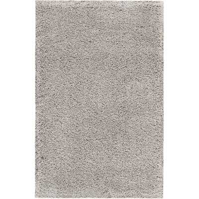 Parrish Gray Area Rug Rug Size: Rectangle 26 x 4
