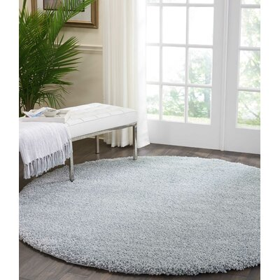 Parrish Silver Area Rug Rug Size: Round 67