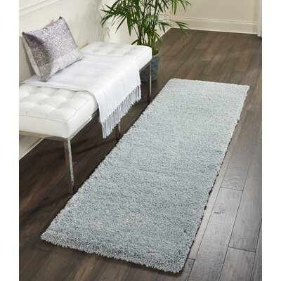 Parrish Silver Area Rug Rug Size: Runner 22 x 91