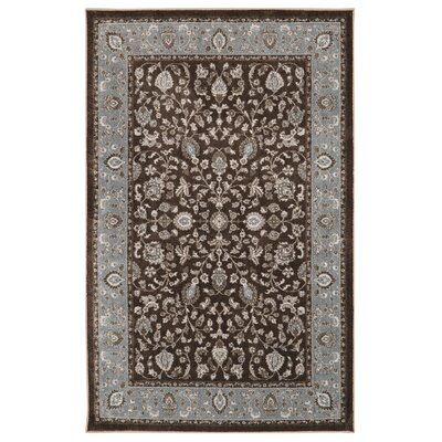 Millstone Brown/Gray Area Rug Rug Size: Rectangle 5 x 8