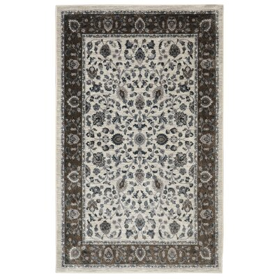 Millstone Sand/Cream Area Rug Rug Size: Rectangle 5 x 8