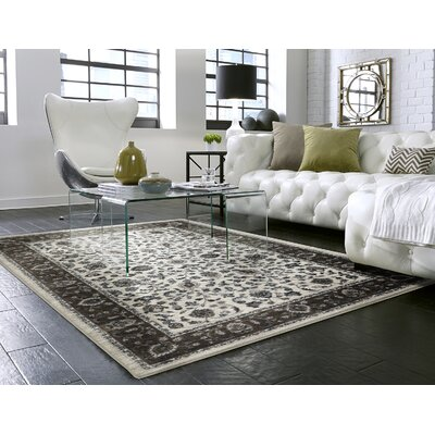 Millstone Sand/Cream Area Rug Rug Size: Rectangle 8 x 10